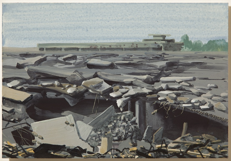 vuur 27/5/2014 (reeks: World Stress Painting, 2009-)