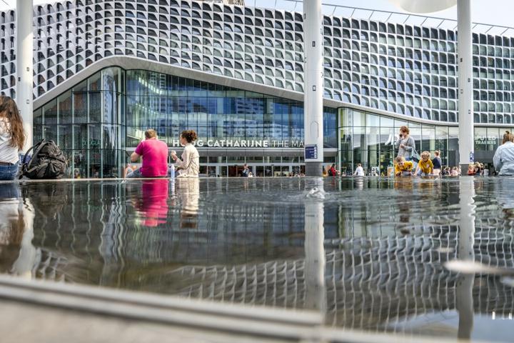 Het nieuwe stadshart van Utrecht