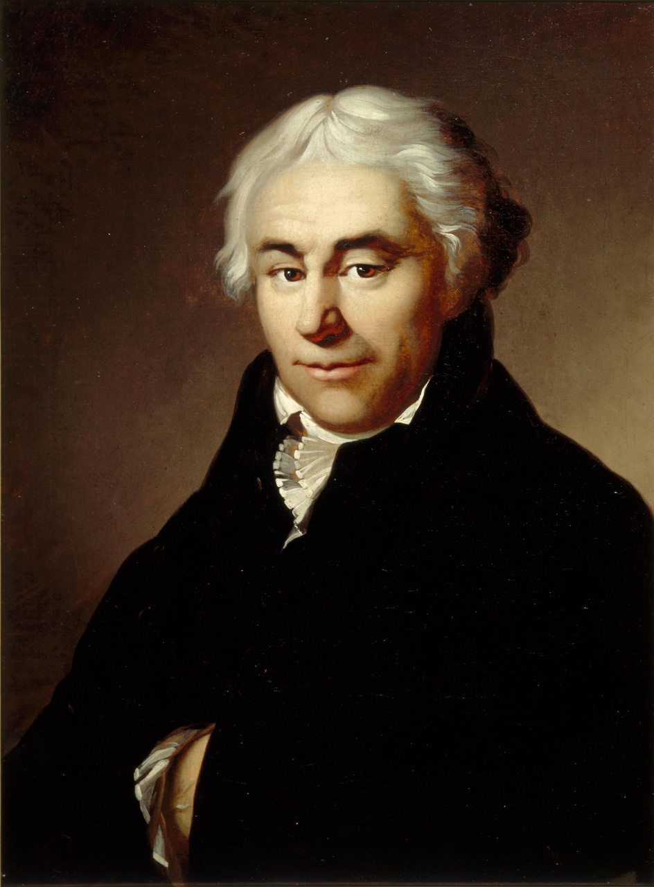 Portret van Charles Sulpice Flament (1758-1855)