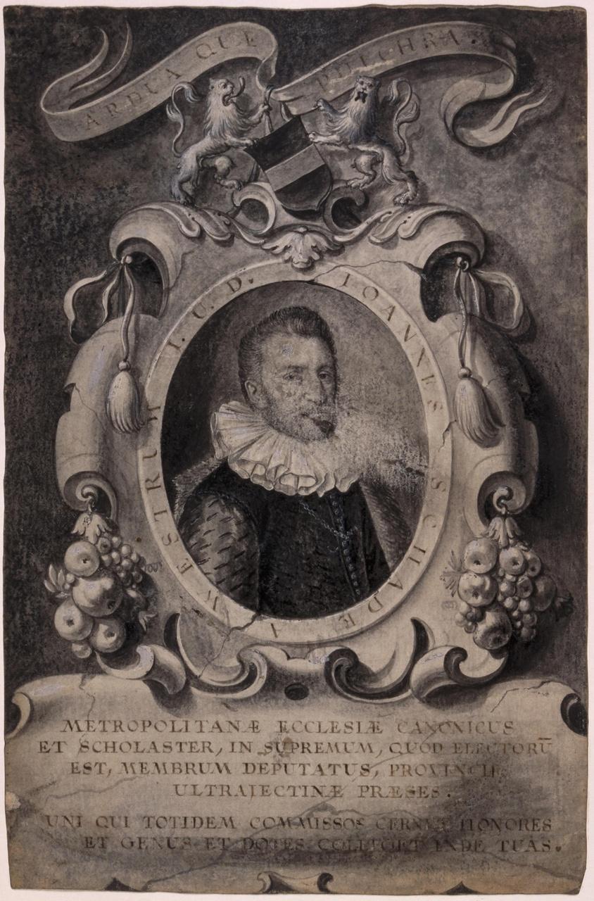 Portret van Johannes Schade van Westrum (?-1614)