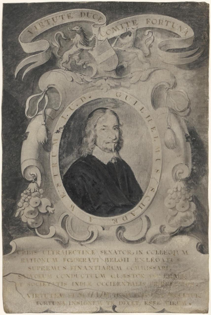 Portret van Willem Schade van Westrum (?-1699)