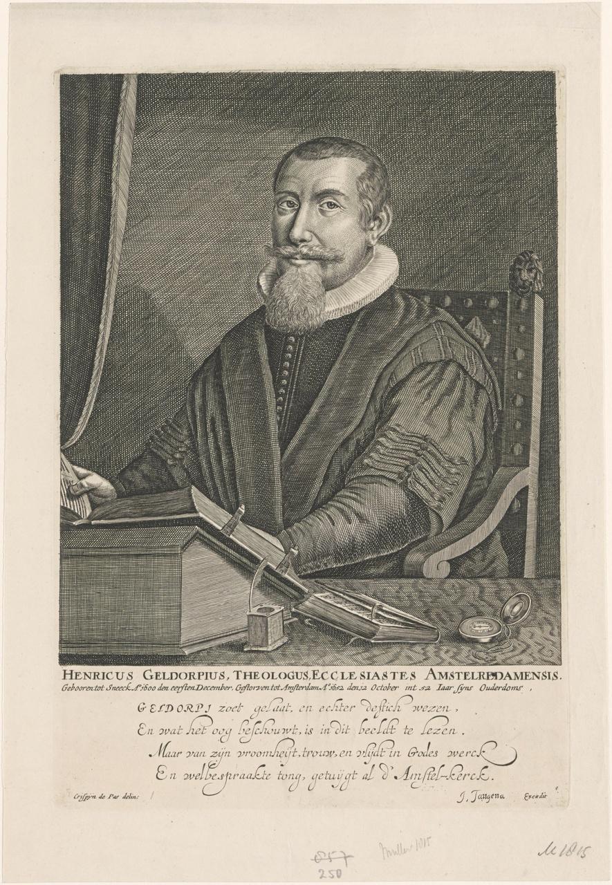 Portret van Henrik Geldorp (1600-1652)