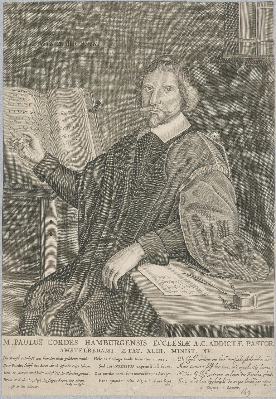 Portret van Paulus Cordes (1613-1674)