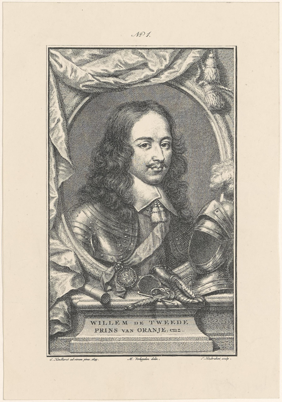 Portret van stadhouder Willem II (1626-1650)