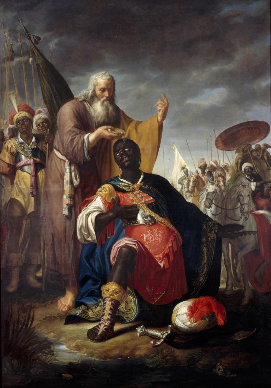 De doop van de kamerling