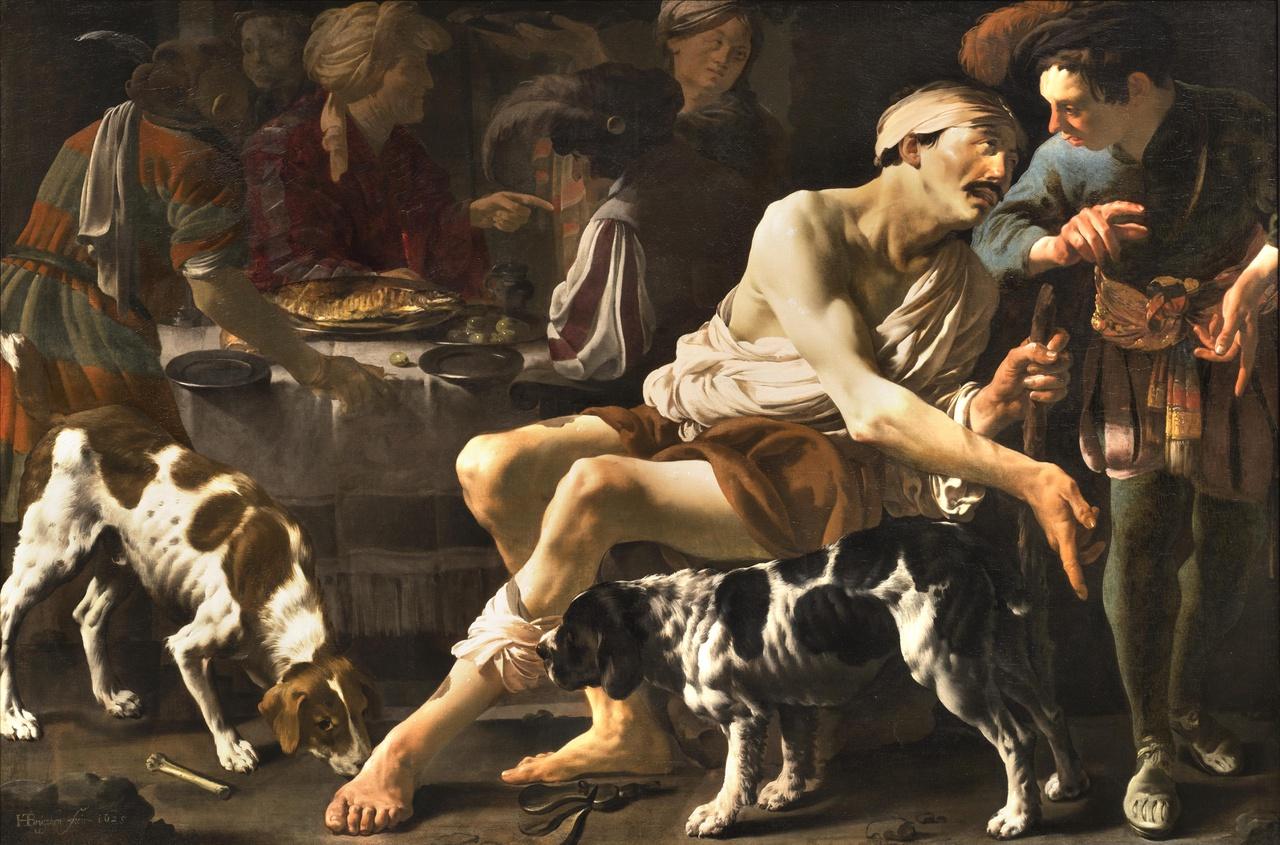 De rijke man en de arme Lazarus