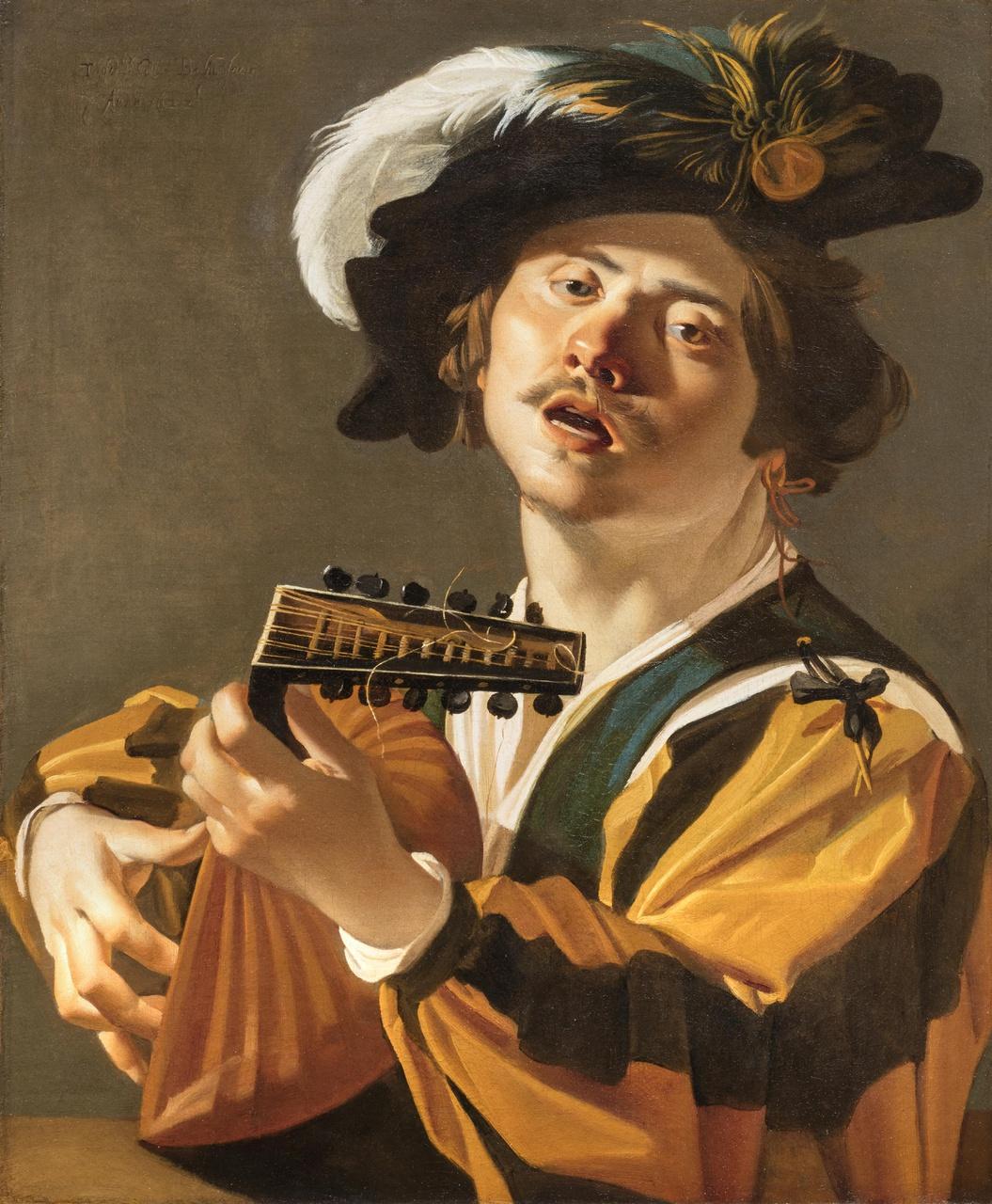 De luitspeler