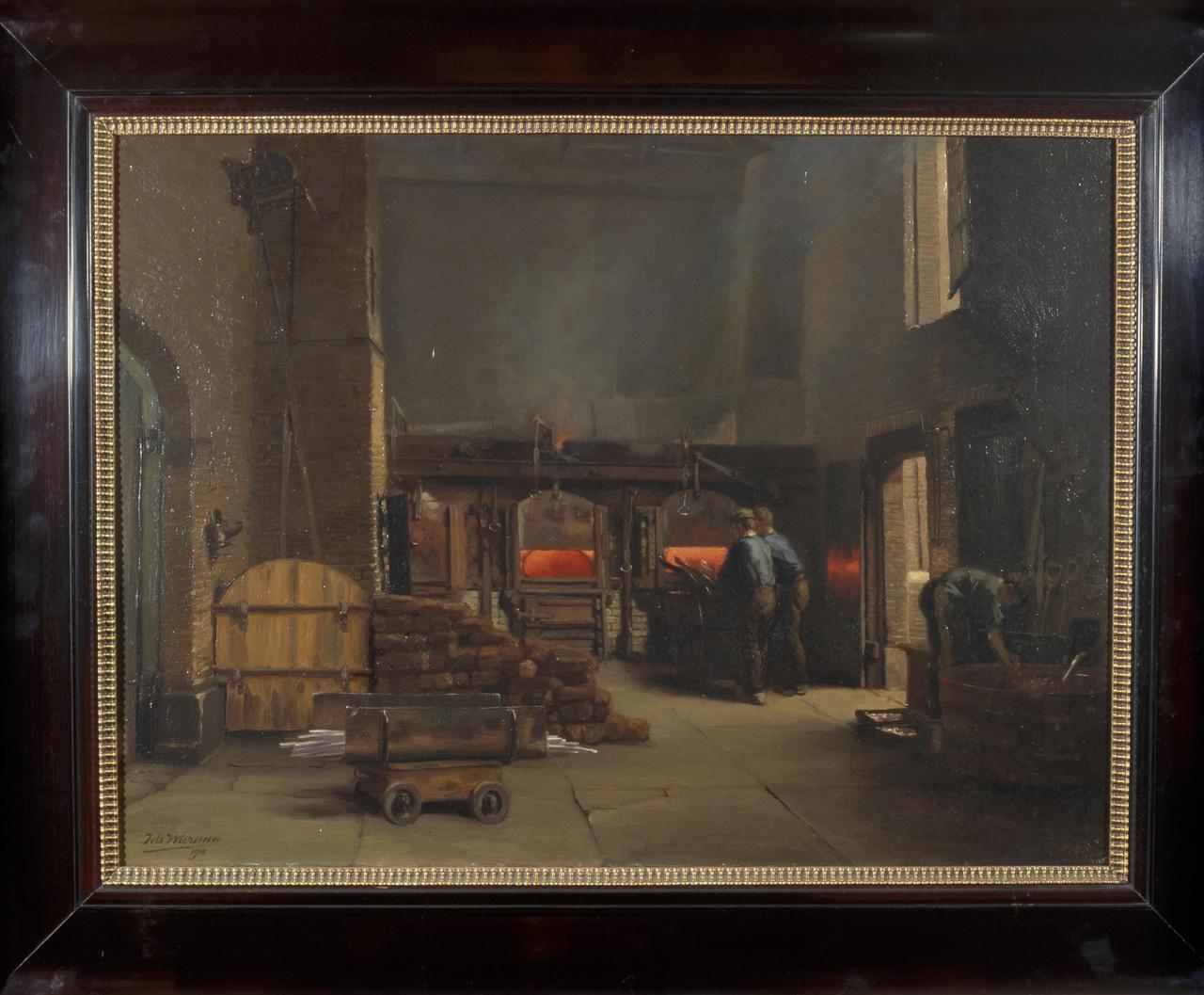 Gloeihuis van de Oude Rijksmunt op de Neude te Utrecht