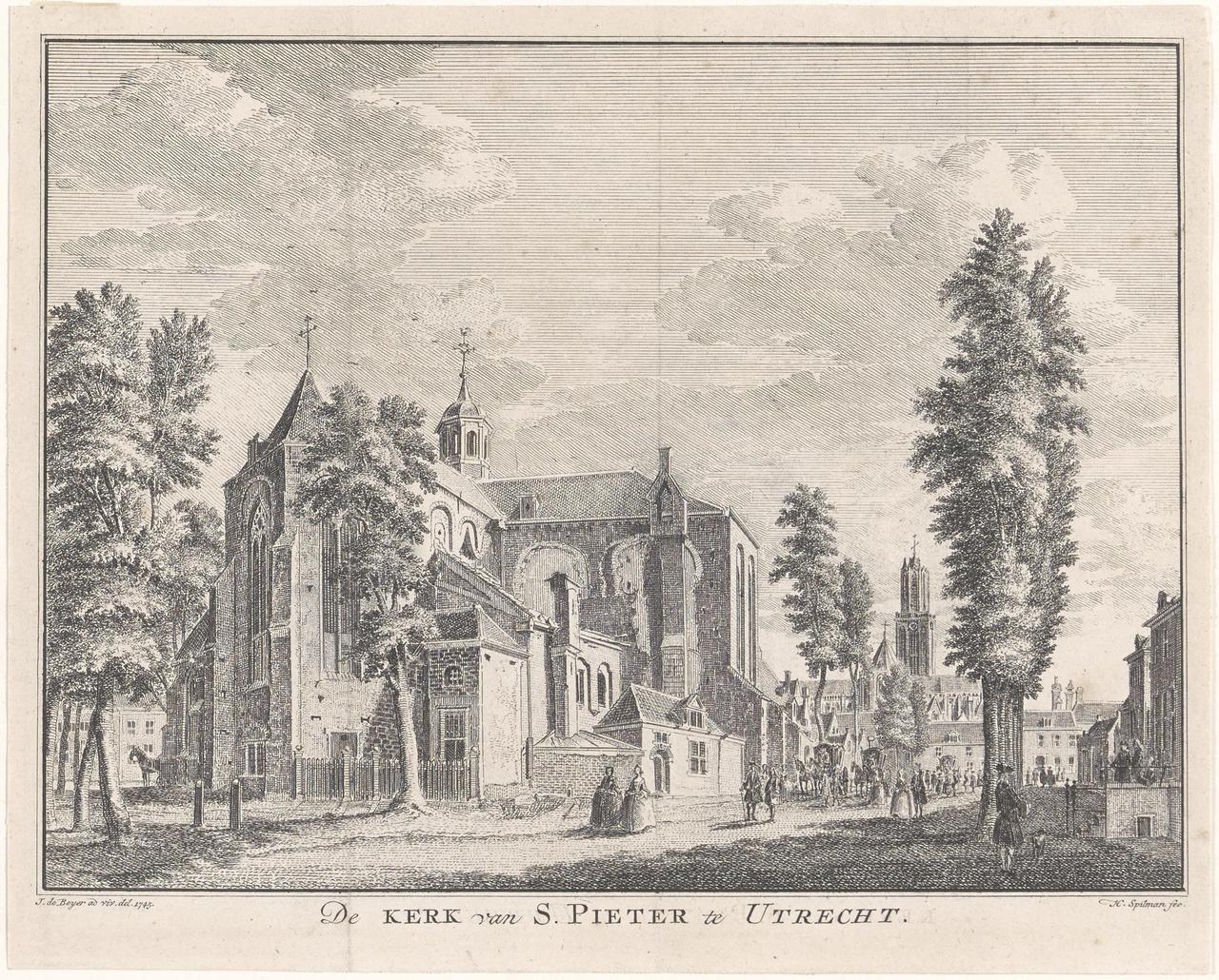 De Pieterskerk te Utrecht