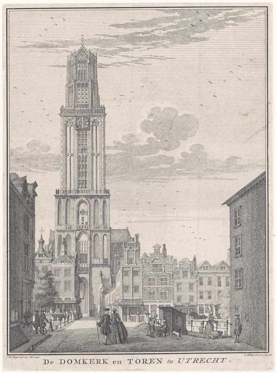 De Domkerk en Domtoren te Utrecht