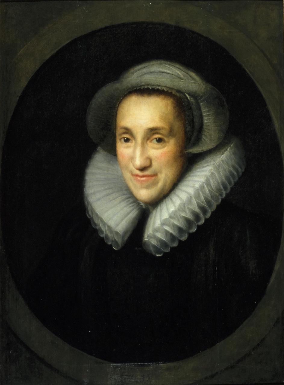 Portret van Claeske van Voorst (1564-1644), echtgenote van Aernout van Buchel