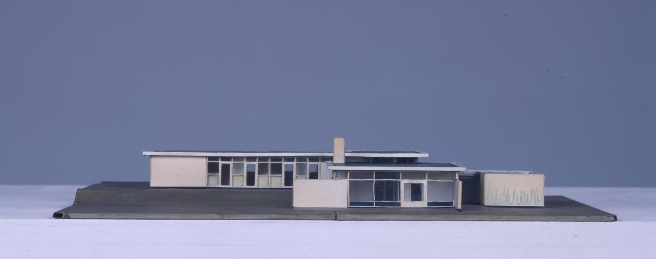 Maquette woonhuis Van Daalen, Fazantenlaan te Bergeyk