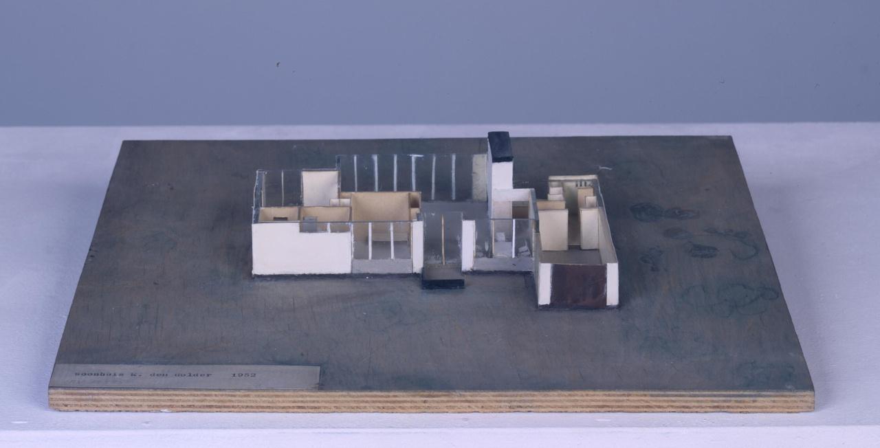 Maquette woonhuis Klaassen te Den Dolder