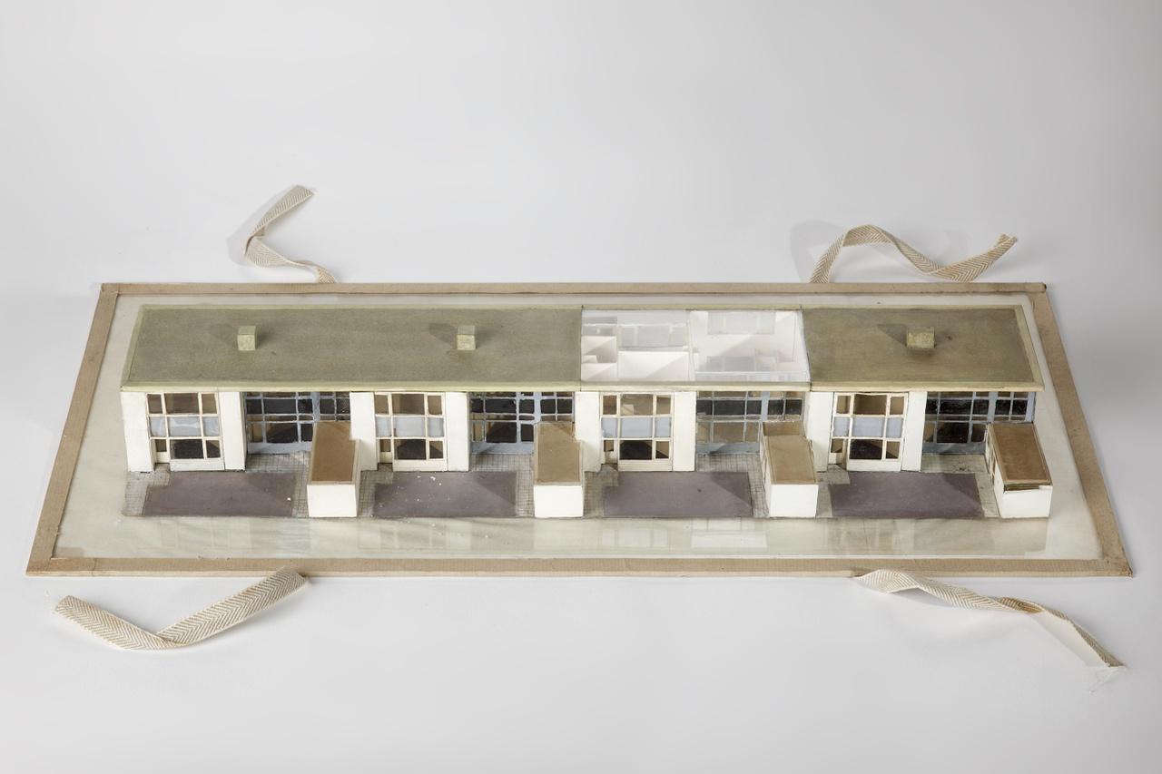 Maquette woningbouw te Reeuwijk