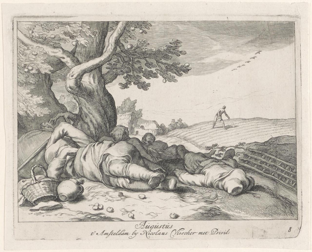 Augustus. Parabel van de 'Tares'; de Twaalf Maanden des Jaars