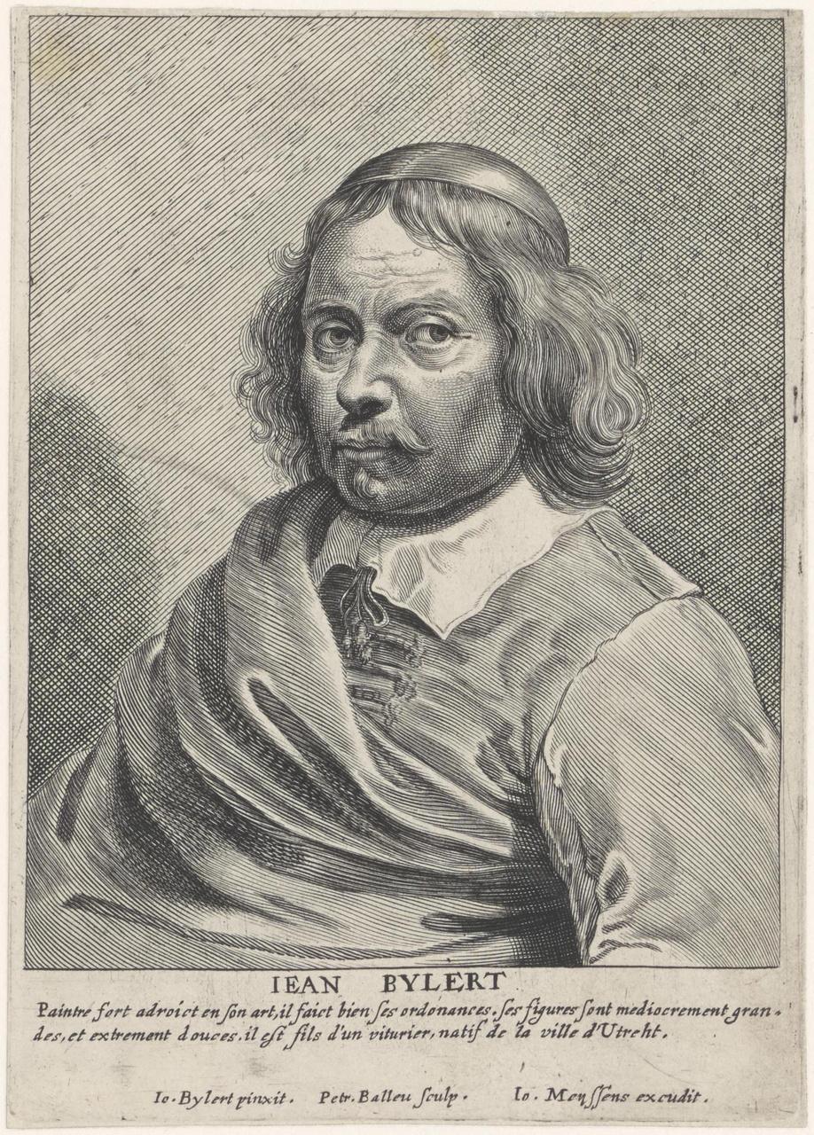 Portret van Jan van Bijlert (1597/1598-1671)