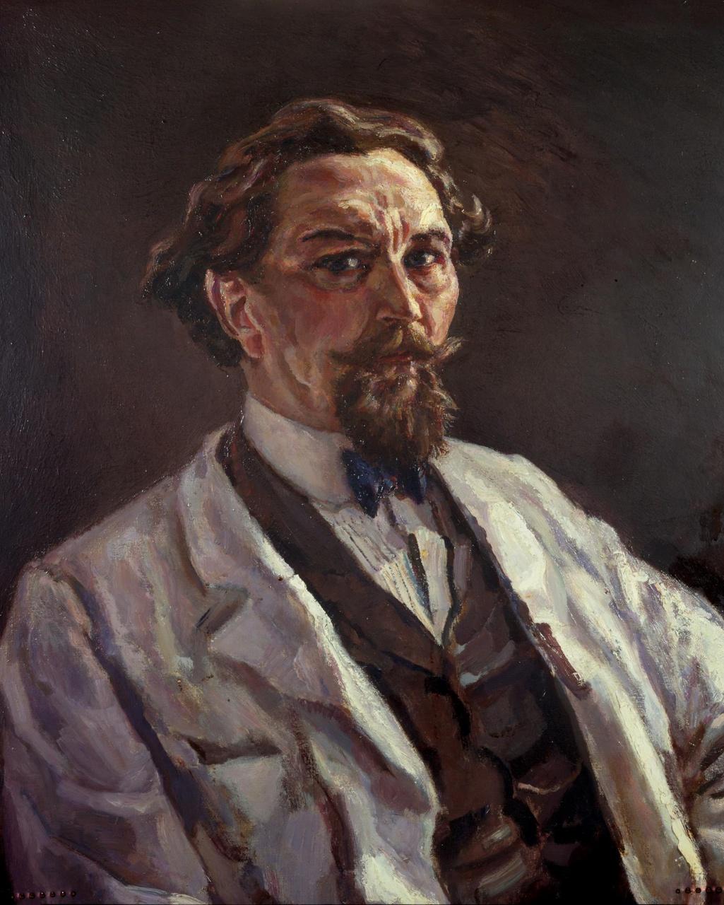 Portret van Dr. H. van der Vuurst de Vries