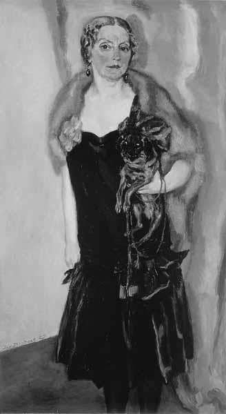 Portret van mevr. Claire Marie van der Vuurst de Vries-Dreher