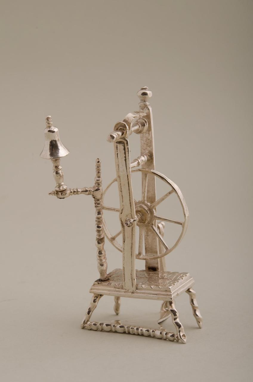 Spinnewiel (miniatuur)