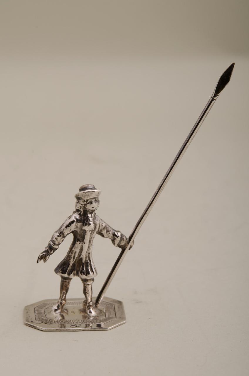 Nachtwacht met lans (miniatuur)