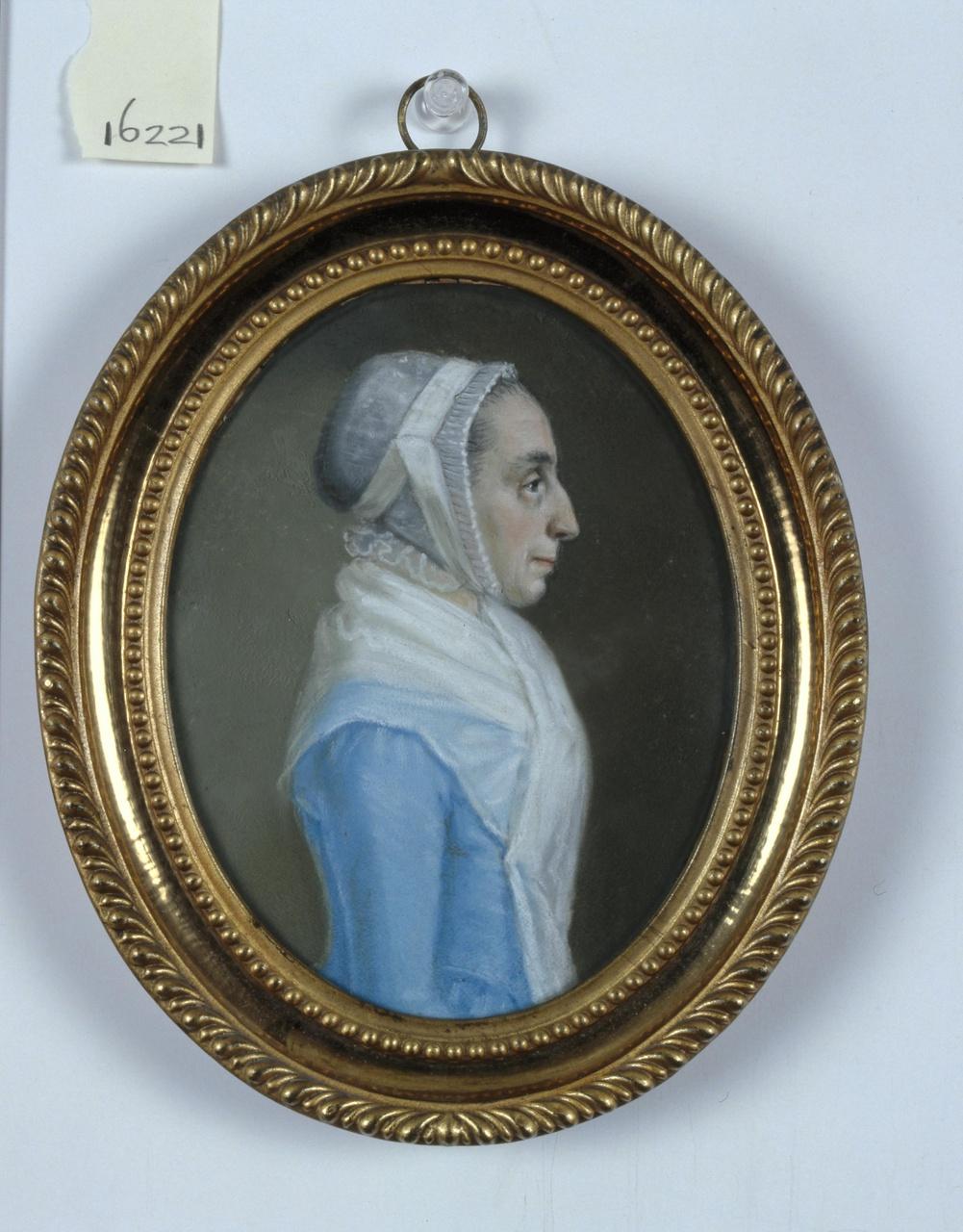 Portret van Engelberta Elizabeth Martens (1746-1826)