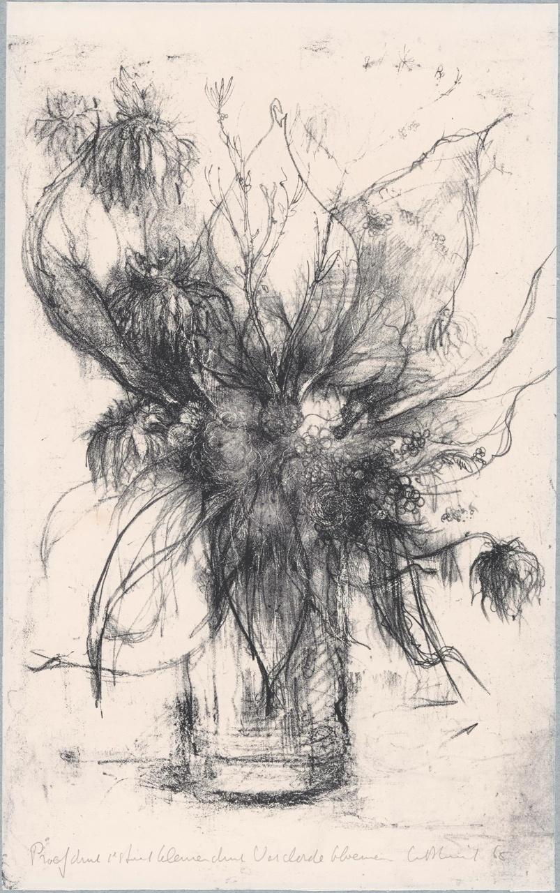 Verdorde bloemen