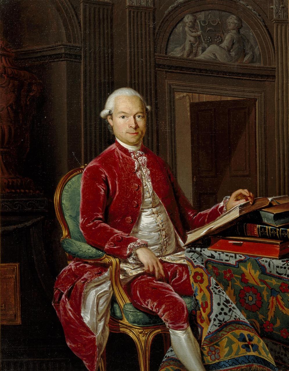 Portret van Joan Andreas Cunaeus (1743-1797)