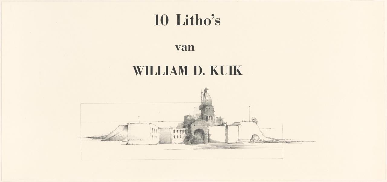 Titelblad 1 van de map Gezichten op Utrecht
