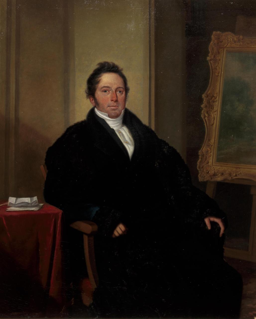 Portret Jacob Constantijn Martens van Sevenhoven (1793-1861)