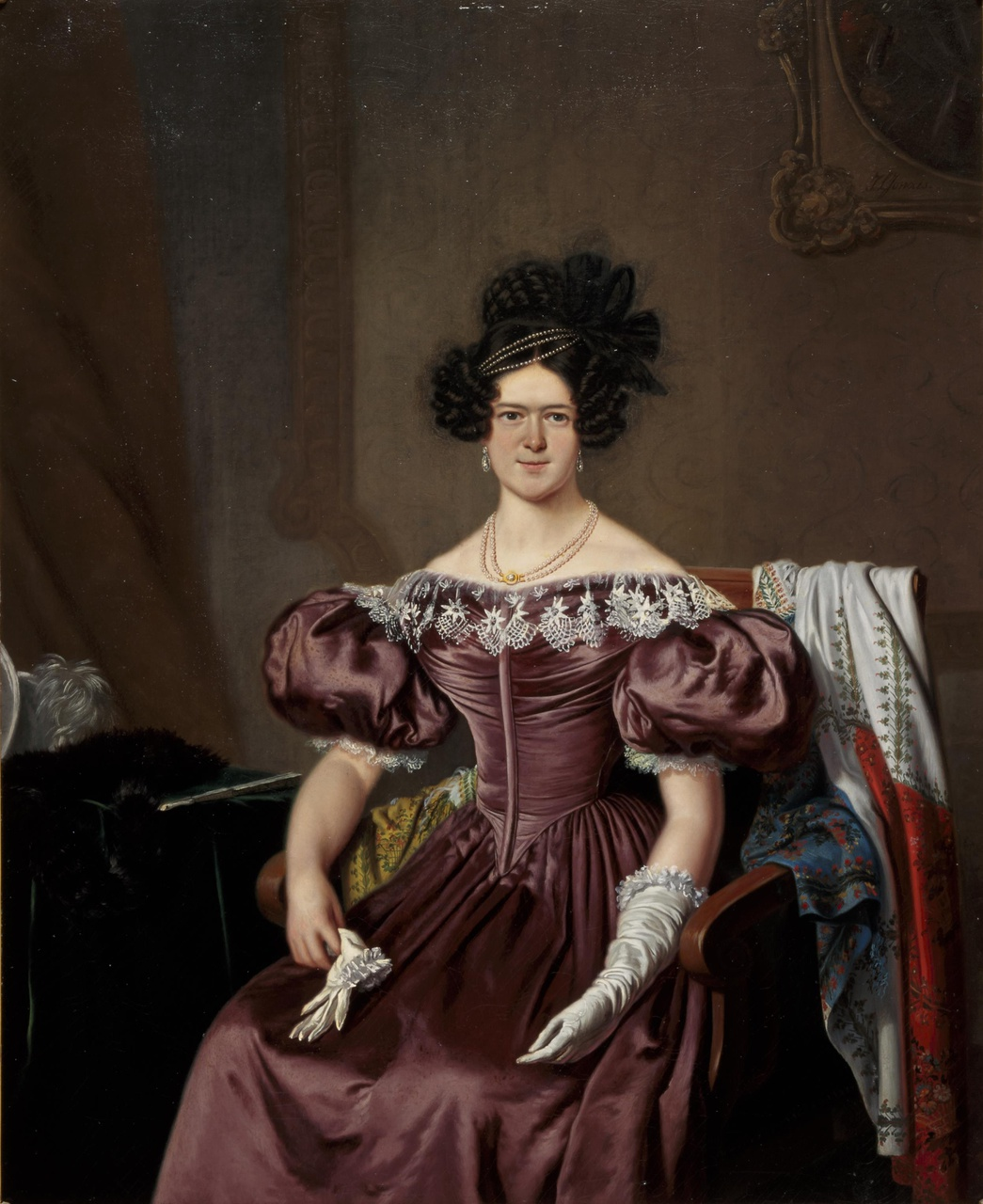 Portret van Susanna Jacoba Martens (1799-1860), echtgenote van Jacob Constantijn Martens van Sevenhoven