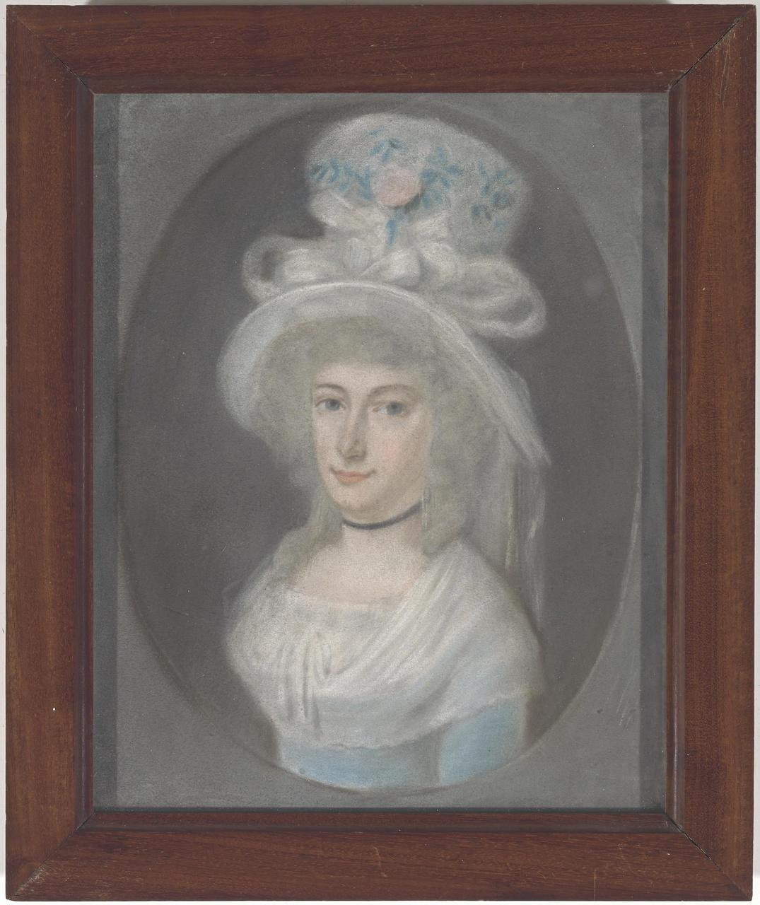 Portret van Johanna Henriëtte Nahuys (1764-1802)