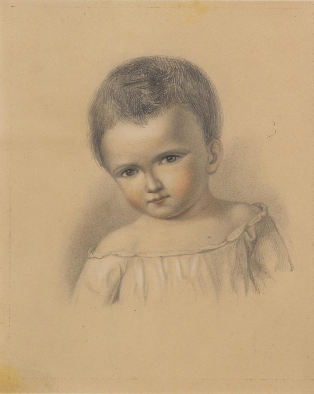 Portret van J.H.J.C. Martens van Sevenhoven (1850-1923) als kleuter