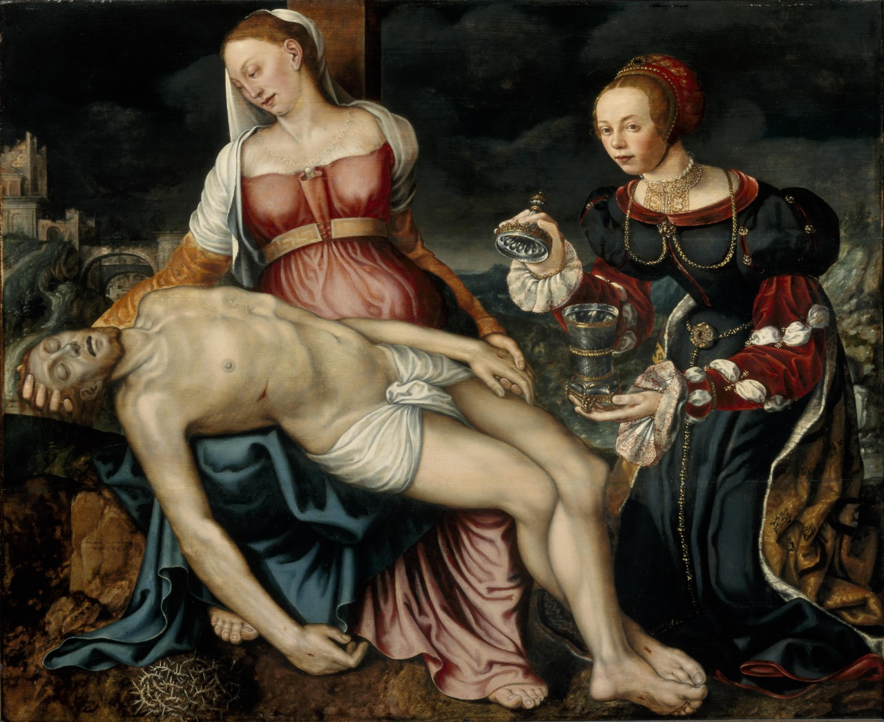 Piëta met Maria Magdalena