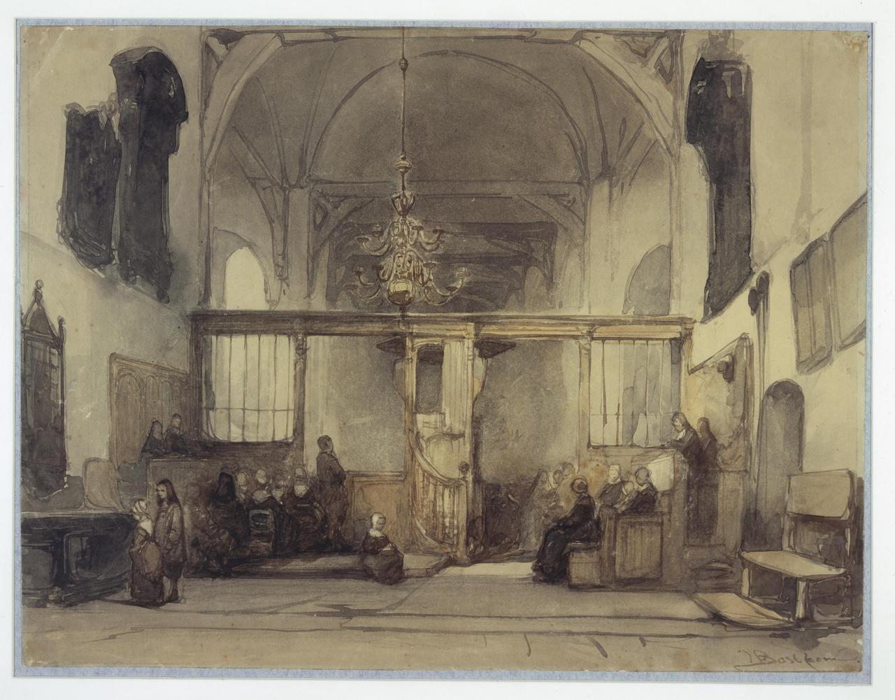 Interieur van de Geertekerk