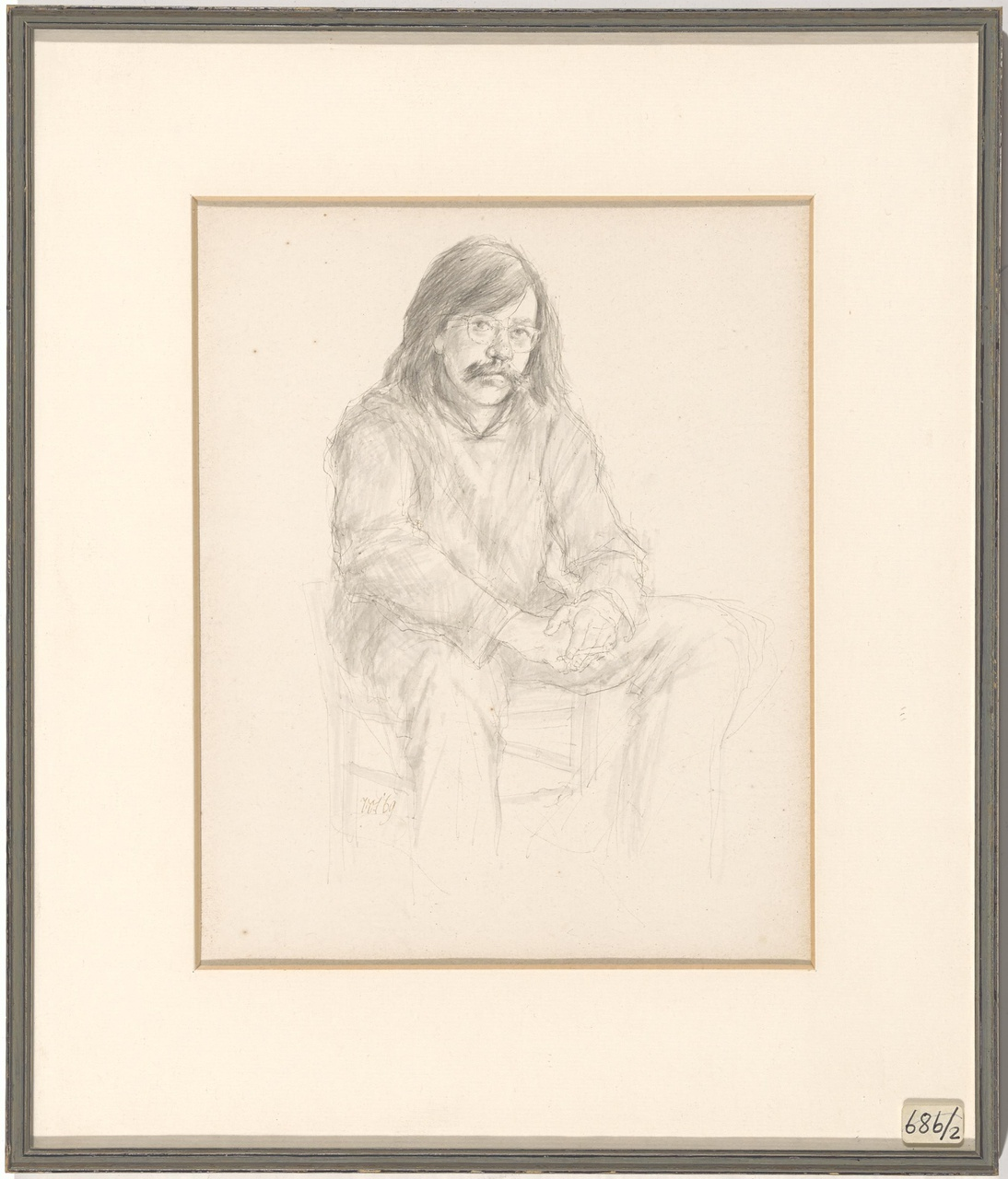 Portret van Dolf Zwerver (1932-2010)