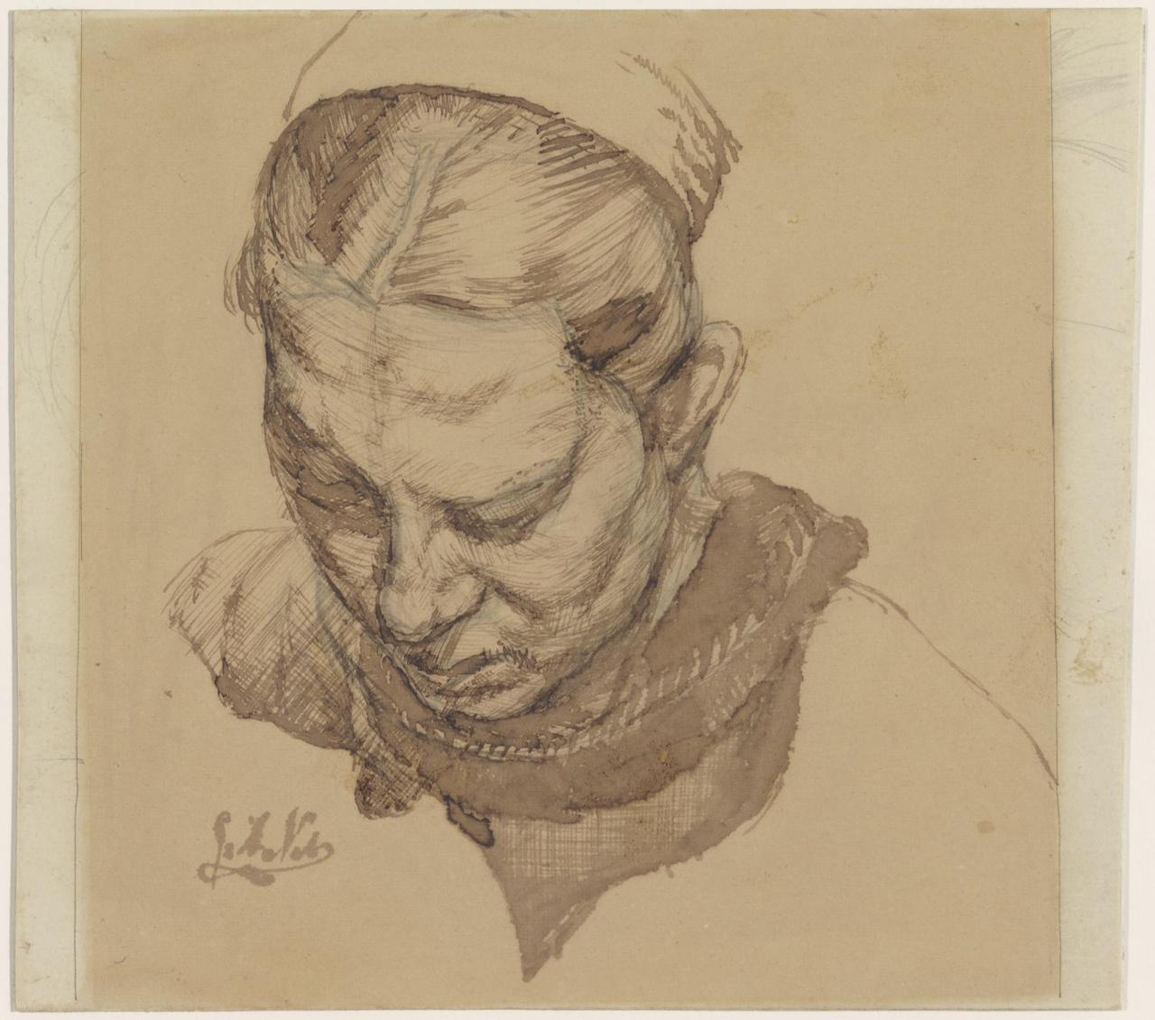 Portret van een boerenvrouw (Janeke Peeters)