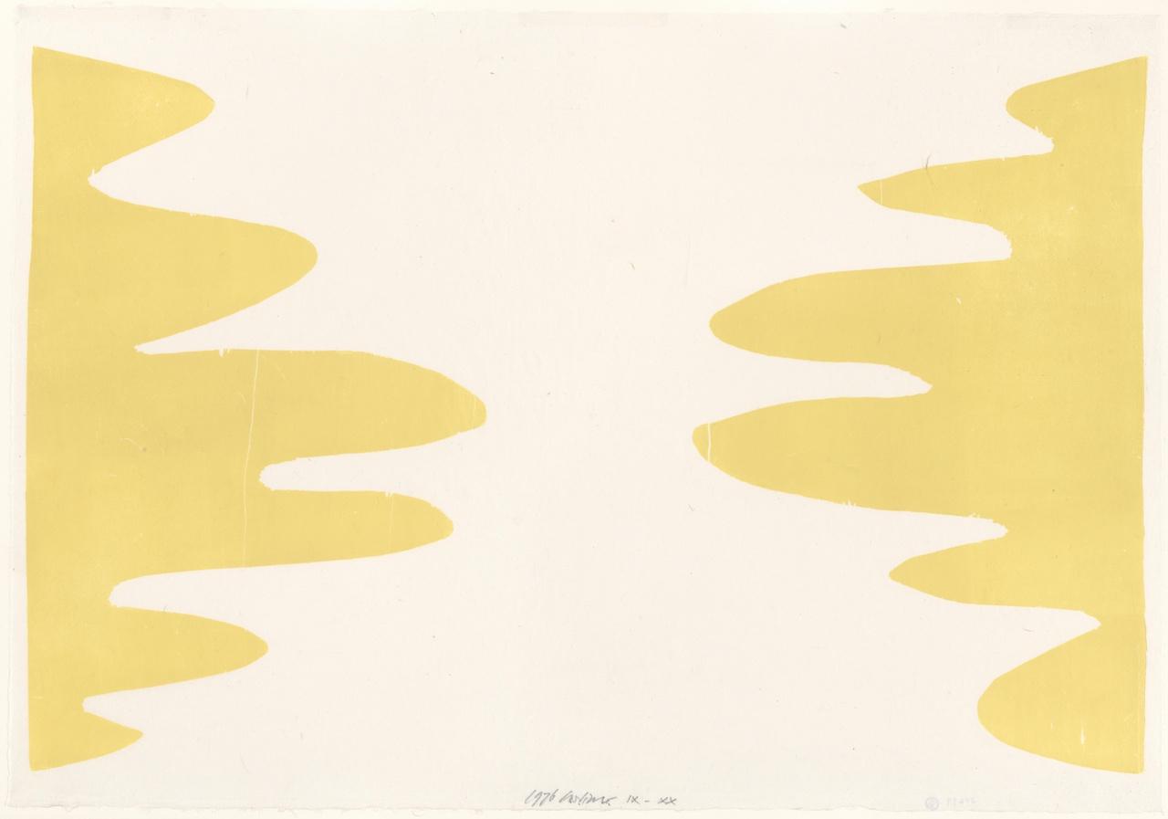 Druk in geel