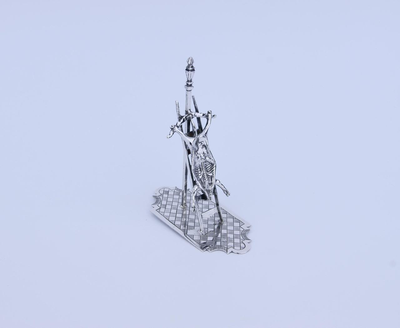 Ladder met opgespannen varken (miniatuur)