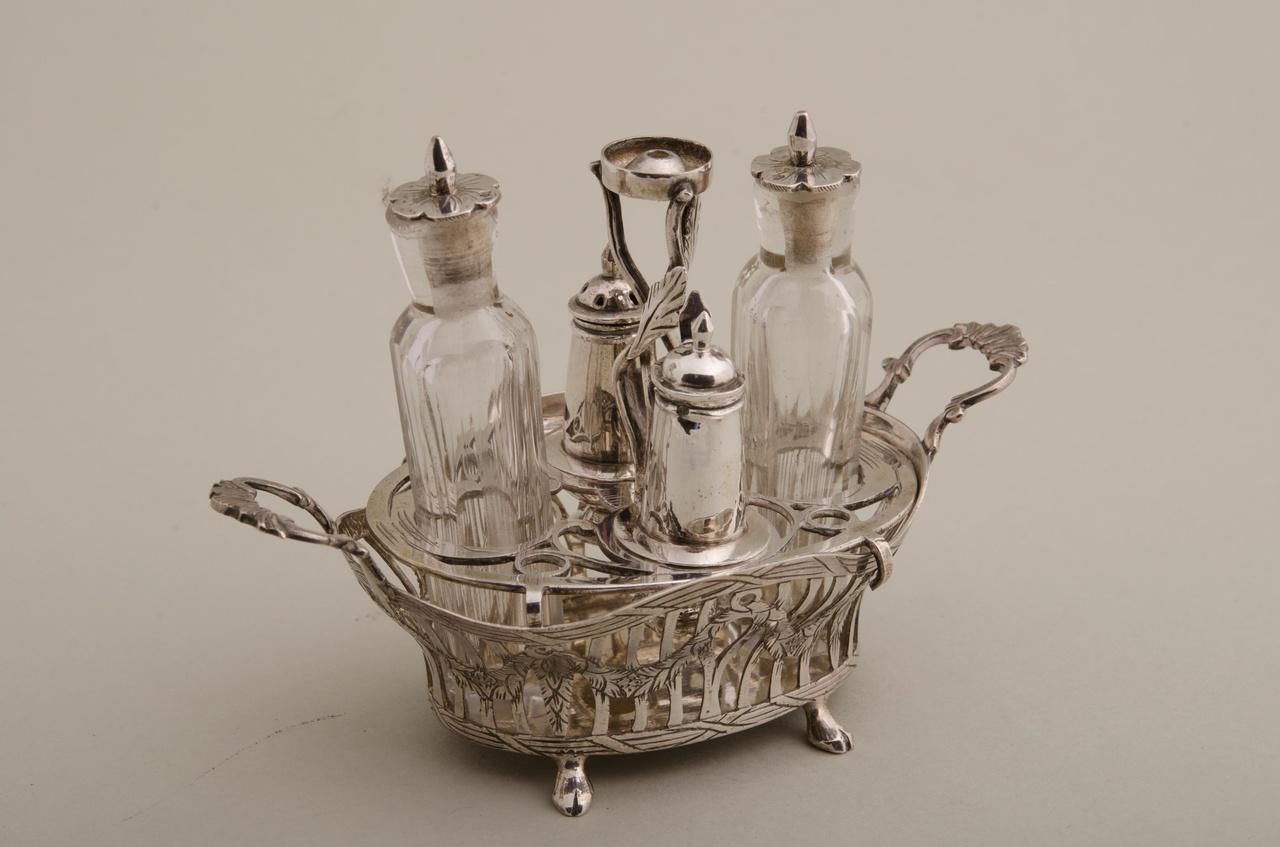 Olie- en azijnstel  (miniatuur)