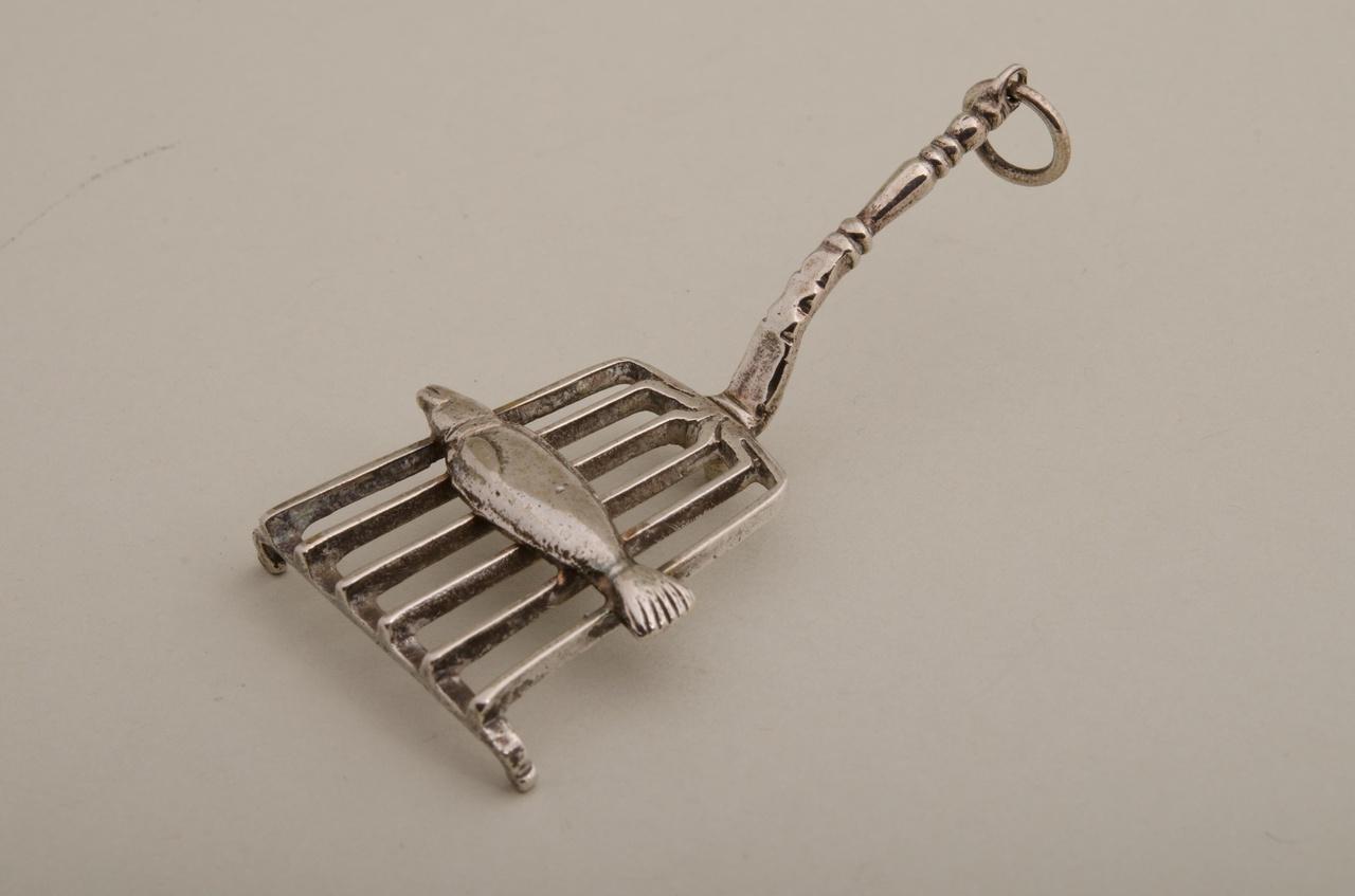 Treeft met vis (miniatuur)