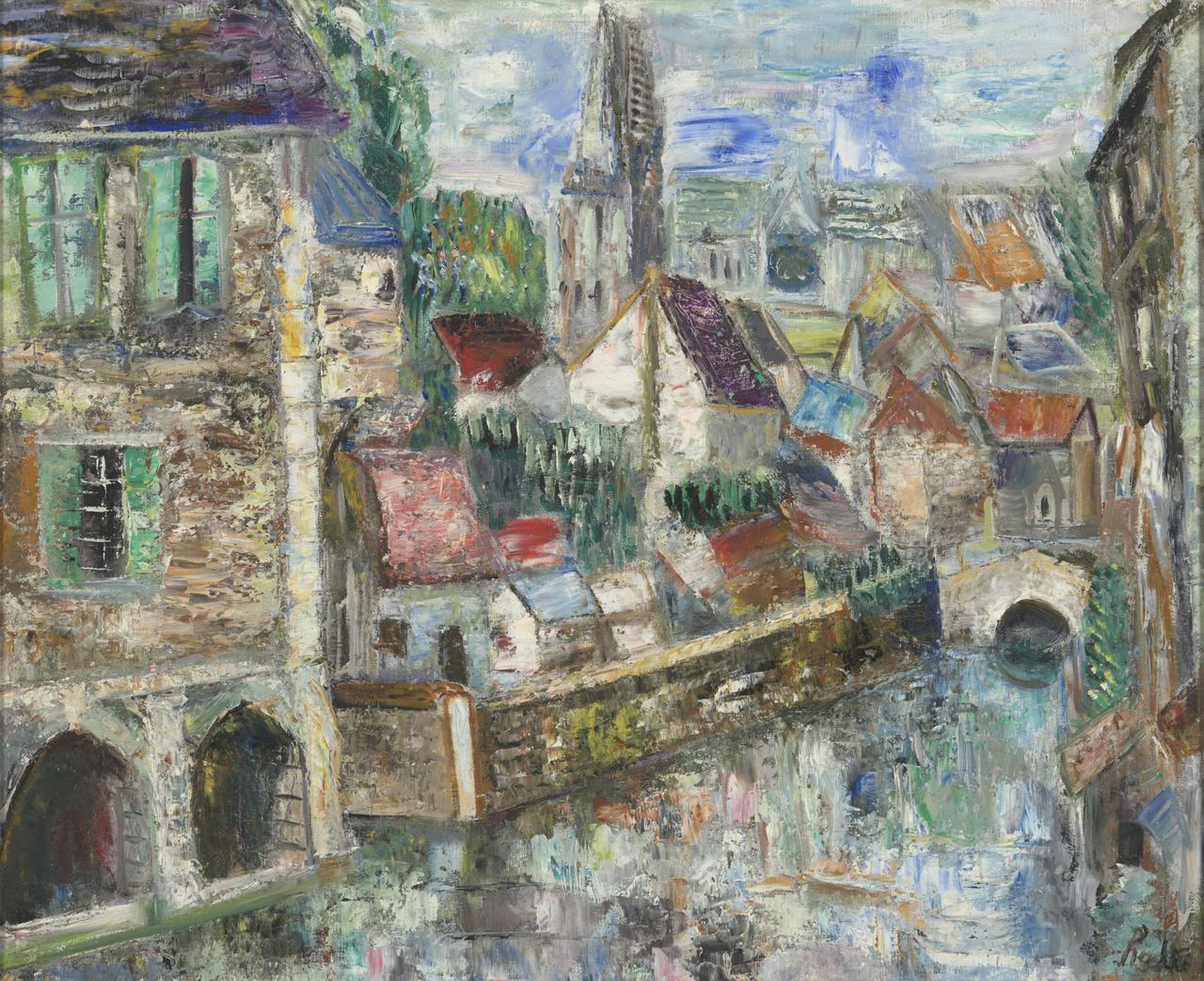 Paysage à Chartres