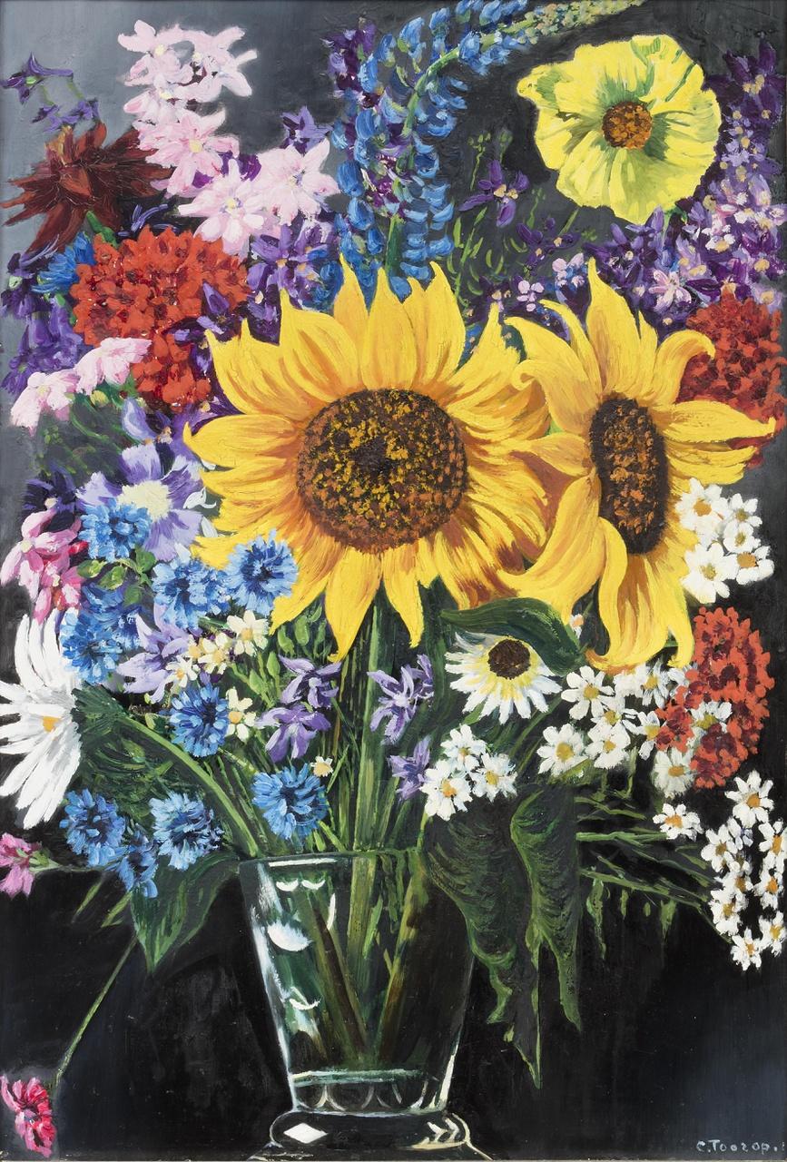 Boeketje zomerbloemen