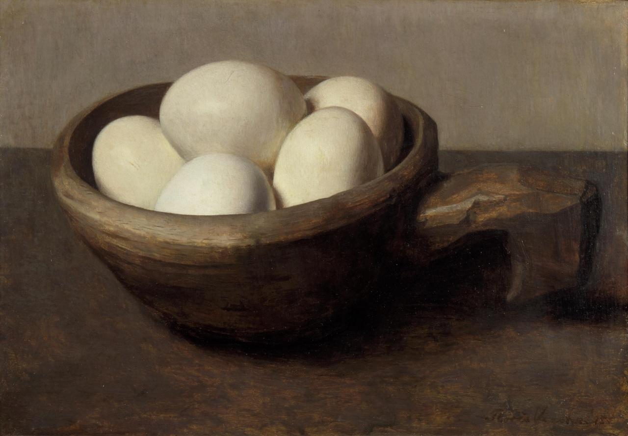 Nap met eieren