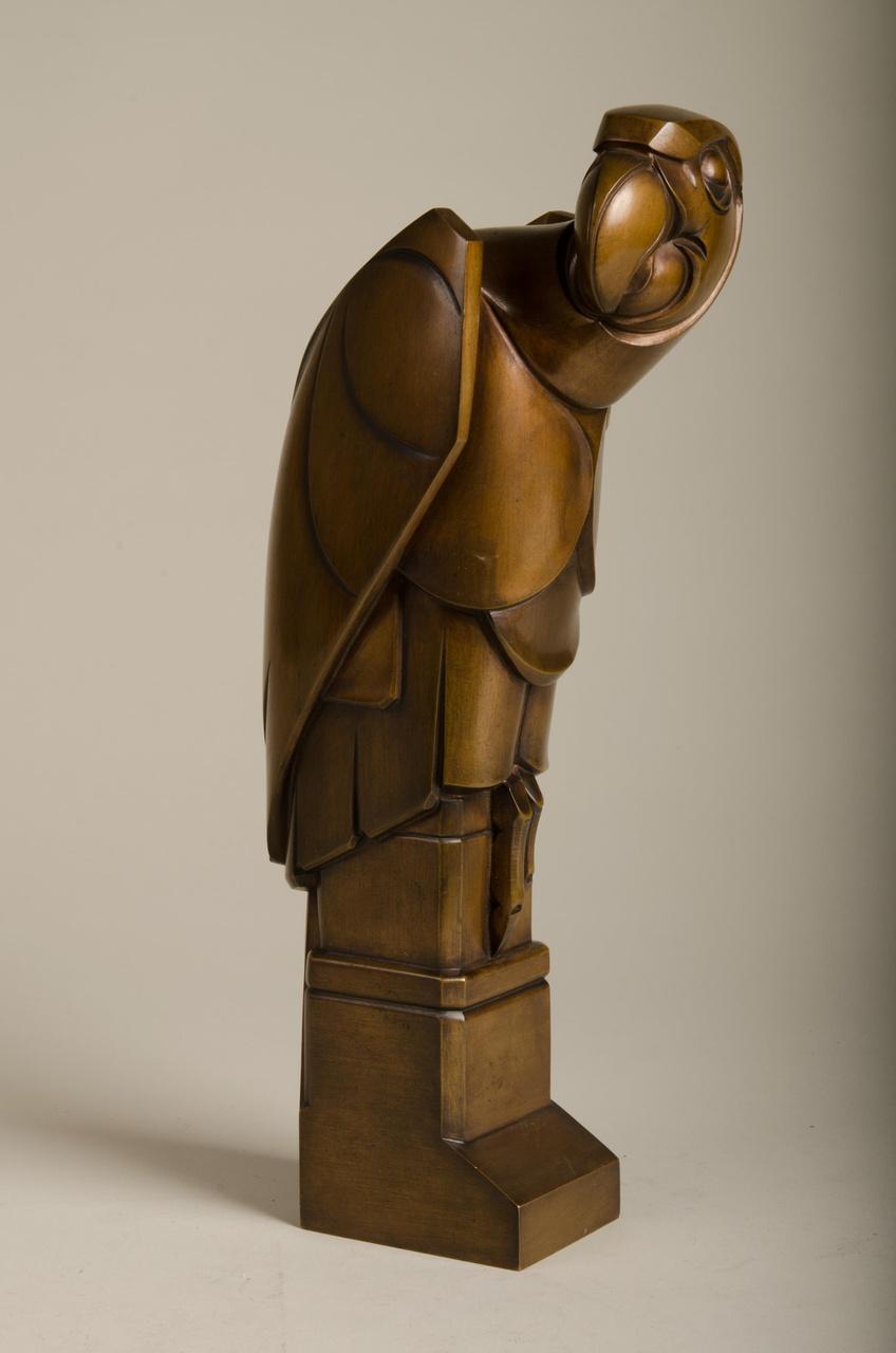 Sculptuur van een Papegaai