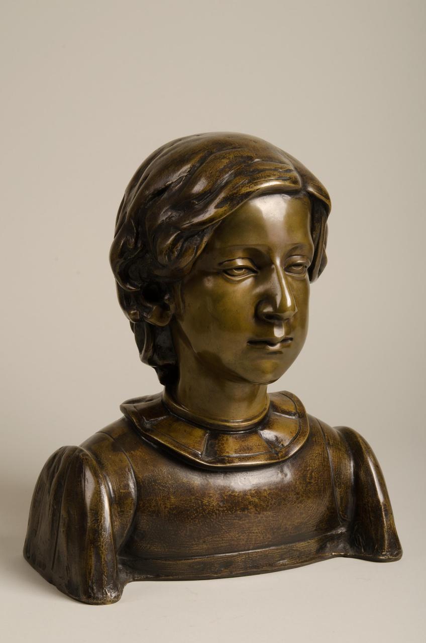 Borstbeeld van Joods meisje
