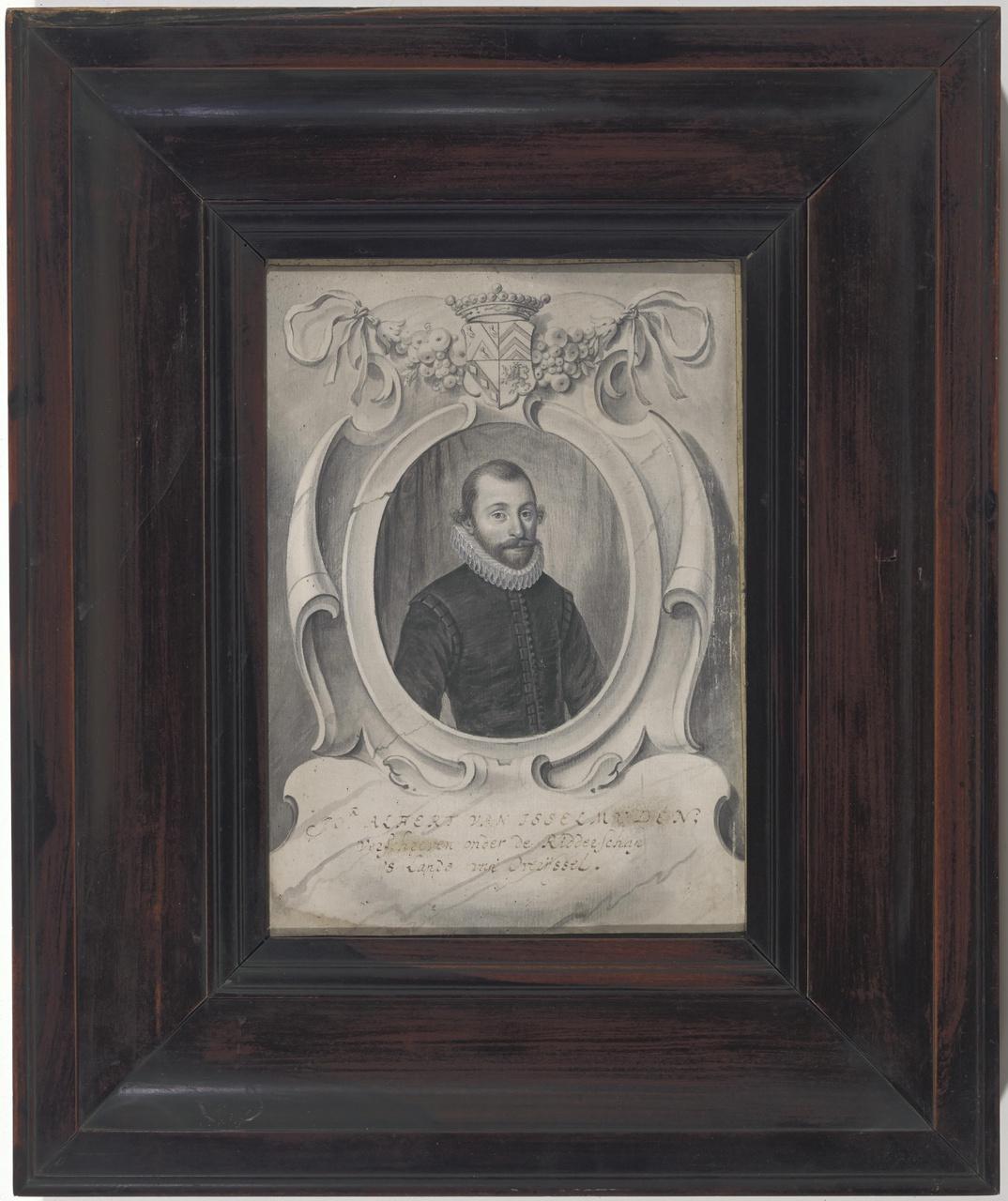 Portret van Alphert van Isselmuden (?-voor 1585)