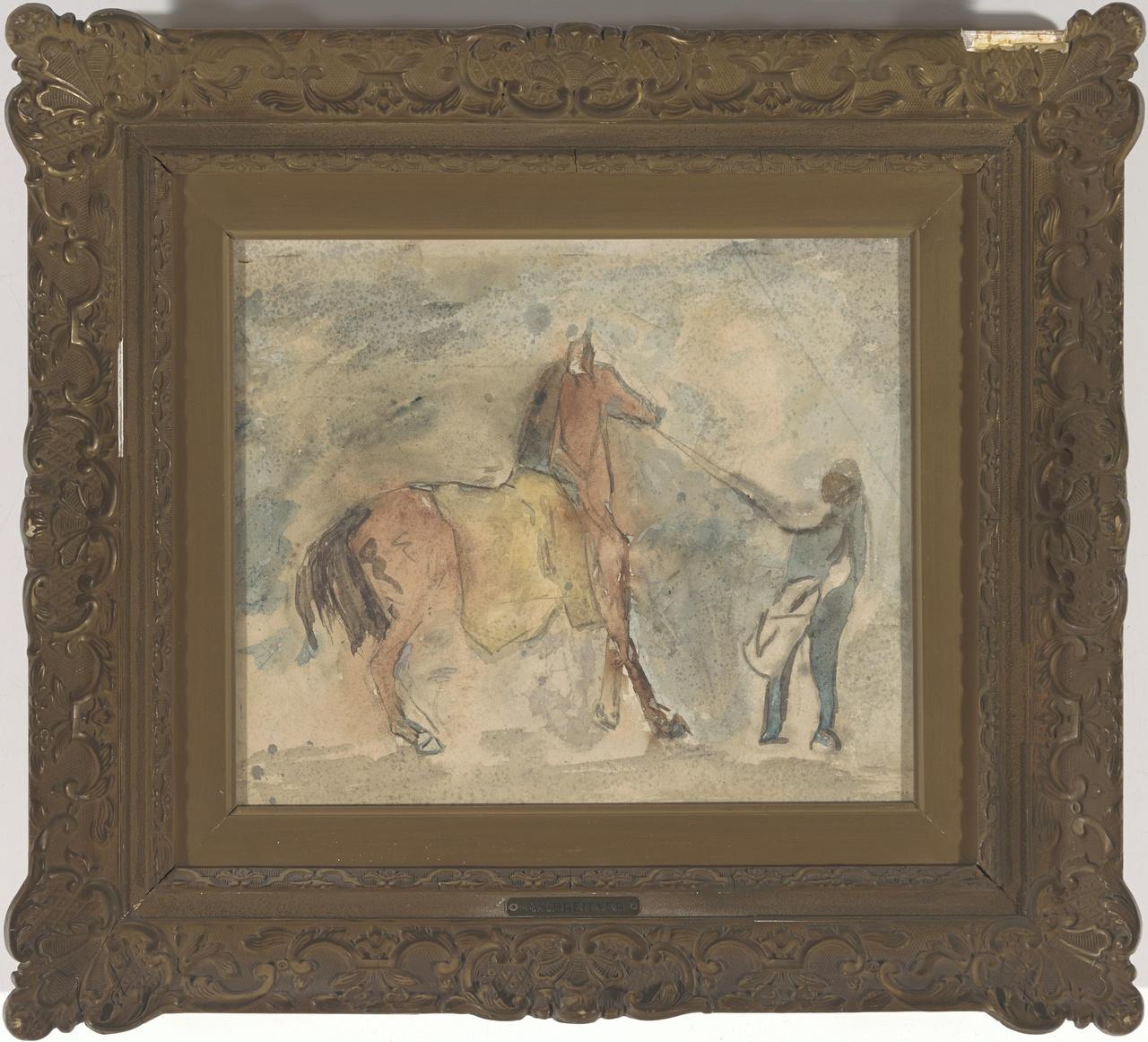 Paard en knecht