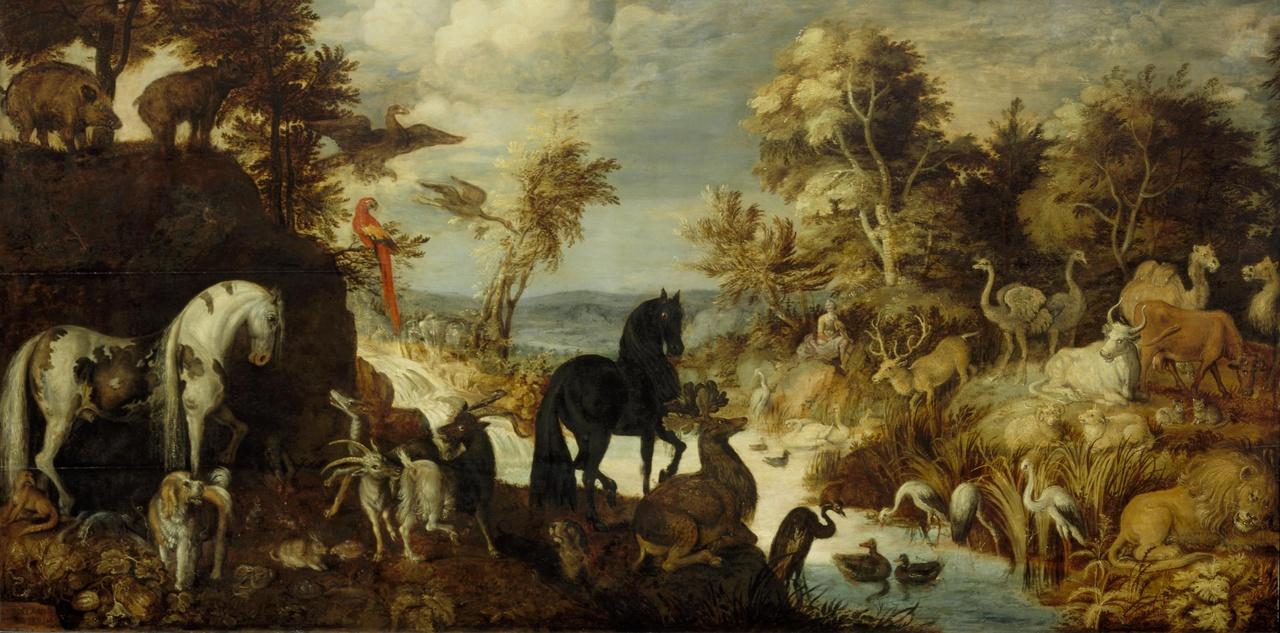 Orpheus en de dieren