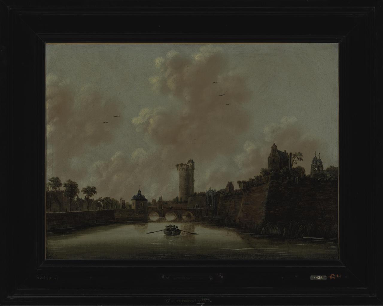De Tolsteegpoort en omgeving te Utrecht
