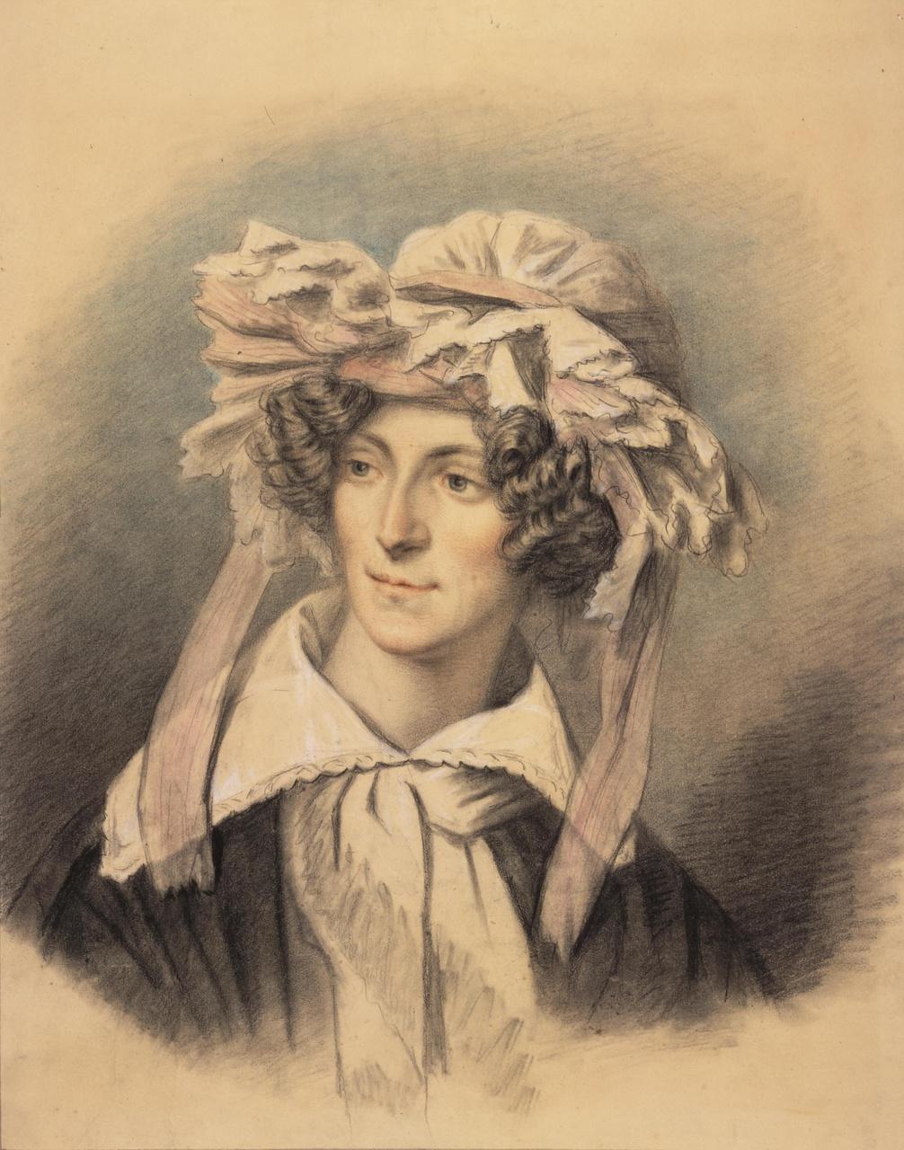 Portret van Agnes Suerman (1810-1833)